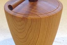 Woodturning boxes