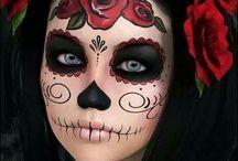 Skull Candy makeup