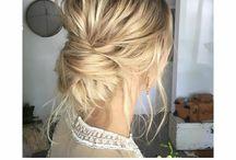 Leah wedding hair
