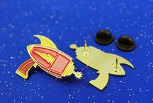 Lapel Pin Collection / Custom lapel pins designed by Jarod Octon.