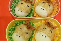 おにぎり a rice ball.