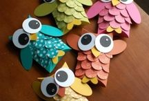 Kids Crafts / by Not 2 Shabbey