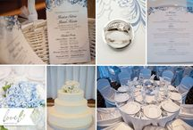 Wedding Day of Stationery / Wedding programs, menus, table numbers and place cards... See how they all come together!