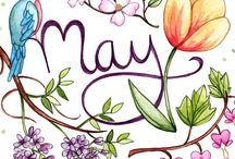 May is...ஐ / Fragrant roses,laughing lilacs  and shining sun.