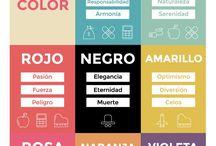 Paletas de color / Inspiración para paletas de color y moodboards