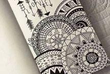 Mandala drawings