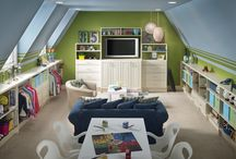 Indoor playroom, gym, swing, climbing, basement toys etc. / by Tonya Knuttila