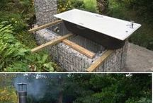 Gabion Outdoor baths