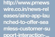 Aino app-one stop solution for customer care services