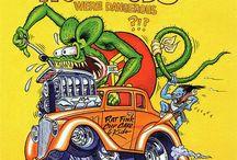 Carros - Rat Fink
