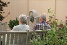 Memory Support Gardens / Gardens are designed to support individuals with Alzheimer's disease