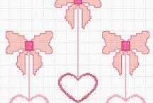 Schemi Punto Croce AlbaRosa / Schemi punto croce fatti da Alba & Rosa