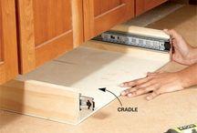 Storage kitchen drawers
