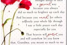 grandmother funeral poem