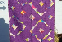 Modern leftover triangles / Ideas to use up those right angle triangles left from quilting / by Becky Biddle