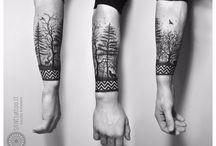Τατουάζ Με Θέμα Τη Φύση