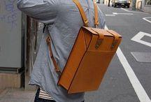 Backpack, bags...