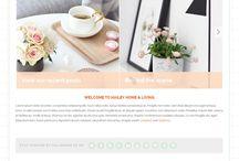 Pretty Wordpress themes / Shopping for chic, minimalist and faintly feminine  Wordpress themes for my site TrulyTafakari.com