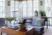 Blue and White / by Rebecca Loewke Interiors