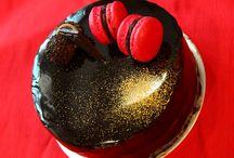 Sooz / Cake with mirror glaze