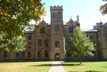 Kenyon College, Gambier Ohio / Kenyon is the oldest private college in Ohio and was founded in 1824.