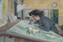Evelyn Dunbar/WWII / by Yara Elizabeth Brighton