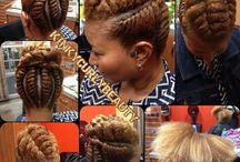 Natural styles / Flat twist
