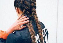 Fryzury,włosy/Hair/Pelo / In love with long hair...