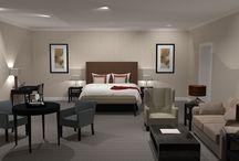 Bedrooms / Bedrooms at Oatlands Park Hotel