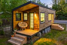 Home away from home / Architecture, landscape, and interior design of getaway homes and cabins.  / by Janaina Vaughn