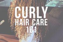 Curly girl stuff