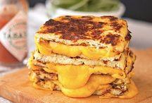 cauli crusted grilled cheese