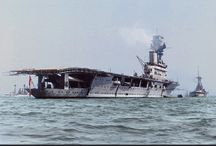 British aircraft carriers (HMS Hermes)