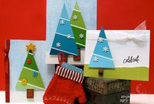 DIY Chistmas cards - Kerstkaarten maken