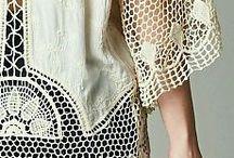 вязание +ткань