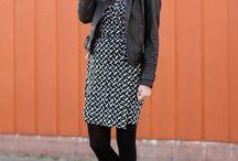 the leather jacket story / black leather coat