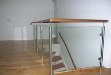Handrails and Balustrades / We manufacture, deliver and install a new range of Interior and Exterior Balustrades