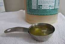 Homemade Natural Cleaning Products / by Anna Cury