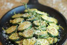 Parmasen zucchini