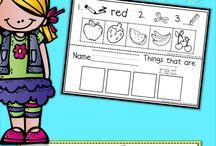 children activities colours
