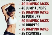 Workout & healthy food