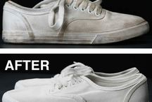 jak vyčistit bílé tenisky