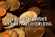Bucket List / Before I die, damn it!
