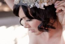 WEDDING head accessory