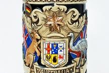 boccali da birra in ceramica