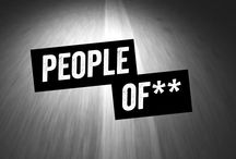 PEOPLE OF **