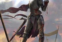 Seliel Solargent / female knight
