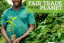 Fair Trade / A board giving information and images about fair trade / by Jobomax Global