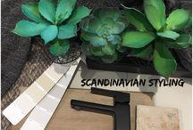 Scandinavian inspired styling