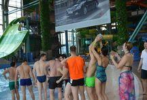 Командообразующий тренинг на воде / Программа тренинга рассчитана на командный результат, участники проходят 4 уровня спортивных командных упражнений, уникальный комплекс которых разрабатывался специально для этого курса и выполнить который возможно только всей командой.